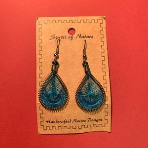 """""""Spirit of Nature"""" Handcrafted Native Earrings"""